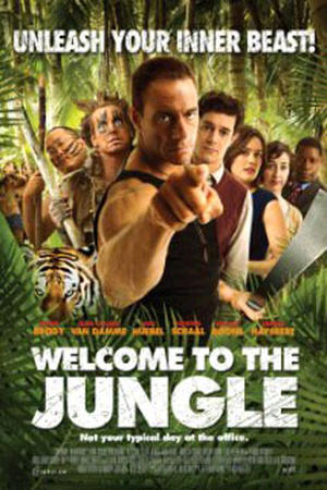 """Poster art for """"Welcome to the Jungle"""""""