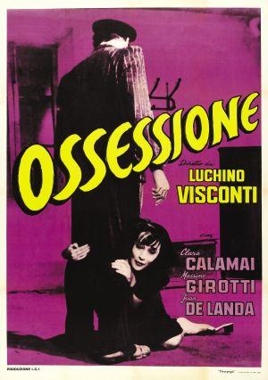 """Poster art for """"Ossessione."""""""