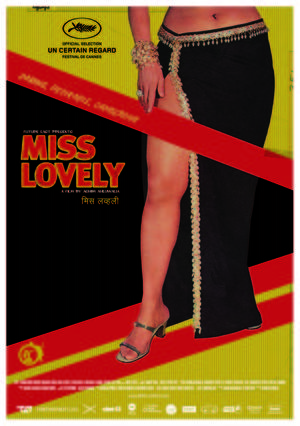 "Poster art for ""Miss Lovely."""