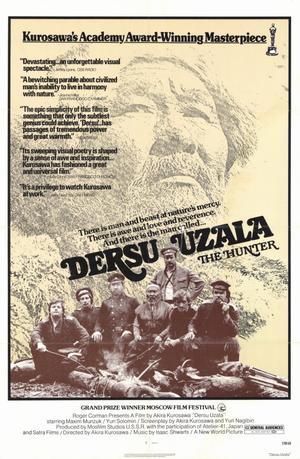 """Poster art for """"Dersu Uzala."""""""