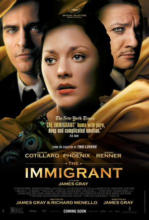 """Poster art for """"The Immigrant""""."""