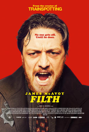 "Poster art for ""Filth."""
