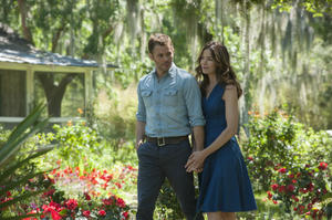 """James Marsden and Michelle Monaghan in """"The Best of Me."""""""