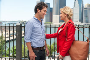 "Paul Rudd as Joel and Amy Poehler as Molly in ""They Came Together."""