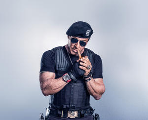 "Sylvester Stallone in ""The Expendables 3."""