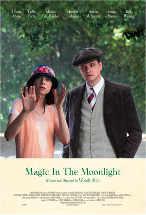 "Poster art for ""Magic in the Moonlight."""