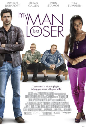 "Poster art for ""My Man is a Loser."""