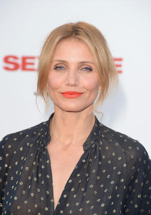 "Cameron Diaz at the California premiere of ""Sex Tape."""