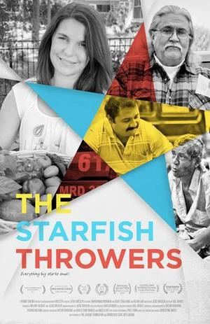 "Poster art for ""The Starfish Throwers."""