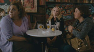 """Marcia DeBonis, Anne Heche and Alia Shawkat in """"That's What She Said."""""""