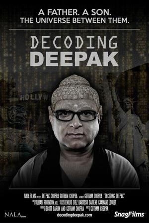 "Poster art for ""Decoding Deepak."""