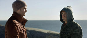 """Tom O'Brien and Chris Messina in """"Fairhaven."""""""
