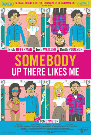 """Poster art for """"Somebody Up There Likes Me."""""""