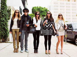 """A scene from """"The Bling Ring."""""""