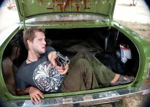 """Jamie Kristian as Wesley in """"100 Bloody Acres."""""""