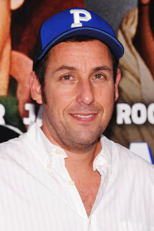 "Adam Sandler at the New York premiere of ""Grown Ups 2."""