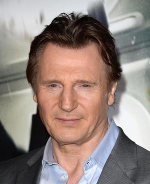 """Liam Neeson at the California premiere of """"Non-Stop."""""""