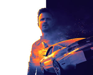 """Aaron Paul in """"Need For Speed."""""""