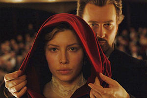 "Jessica Biel in ""The Illusionist."""