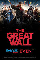 The Great Wall Fan Event showtimes and tickets