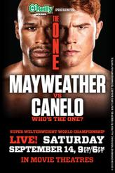 The One: Mayweather vs. Canelo showtimes and tickets