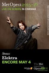 The Metropolitan Opera: Elektra ENCORE showtimes and tickets