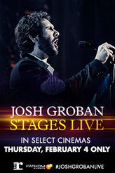 Josh Groban: Stages Live showtimes and tickets