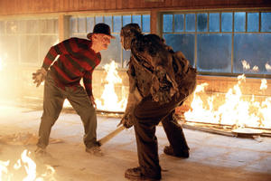 Fisticuffs and Face-Offs in Fright Flicks