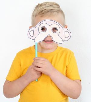 Make Masks Inspired by 'Monkey Kingdom'