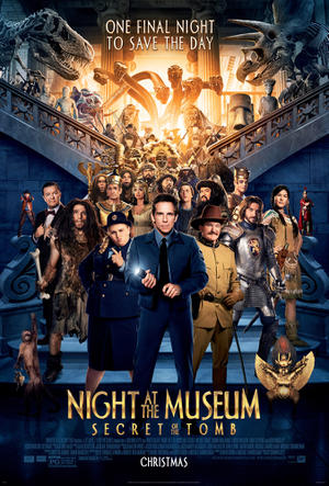 Exclusive: 'Night at the Museum: Secret of the Tomb' Poster Premiere