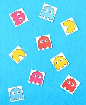 Game On: Stickers Inspired by 'Pixels'