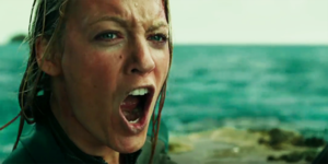 Are You Brave Enough to Watch the Killer-Shark Movie 'The Shallows' While Floating on Water?