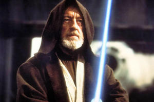 'Star Wars' Shocker! See How Obi-Wan Almost Survived the First Movie