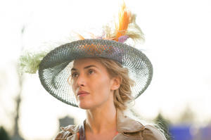 "Kate Winslet in ""A Little Chaos."""