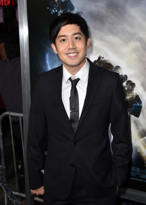 "Allen Evangelista at the California premiere of ""Project Almanac."""