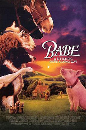 "Poster art for ""Babe."""