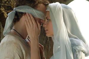"""Hayden Christensen and Mischa Barton in """"Virgin Territory."""""""