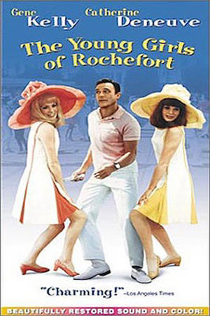 """Poster art for """"The Young Girls of Rochefort."""""""