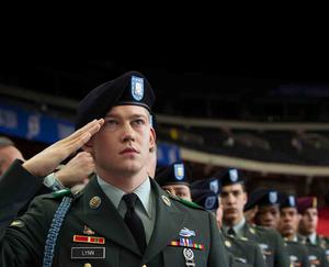 """Check out these photos from """"Billy Lynn's Long Halftime Walk"""""""