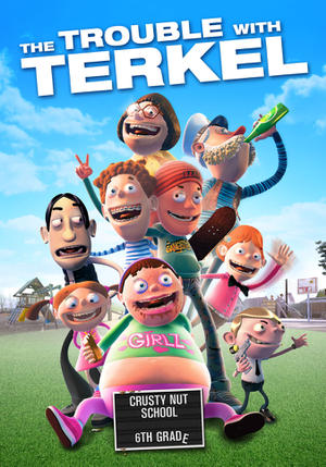"""Poster art for """"The Trouble with Terkel."""""""