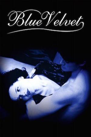 """Poster art for """"Blue Velvet."""""""