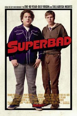 "Poster art for ""Superbad."""