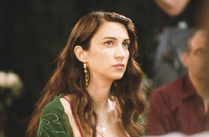 "Shiva Rose in ""David & Layla."""