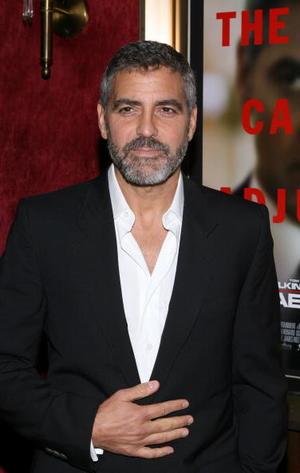 """""""Michael Clayton"""" star George Clooney at the N.Y. premiere."""
