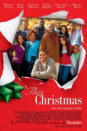 """Poster art for """"This Christmas."""""""