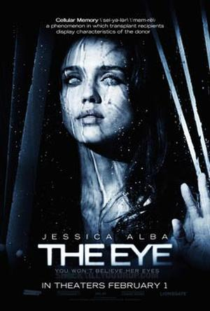 "Poster art for ""The Eye."""