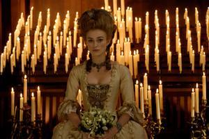 "Keira Knightley as Georgiana in ""The Duchess."""