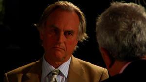 "Richard Dawkins and Ben Stein in ""EXPELLED: No Intelligence Allowed."""