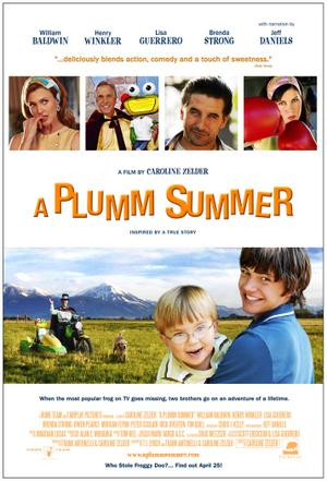 "Poster art for ""A Plumm Summer."""