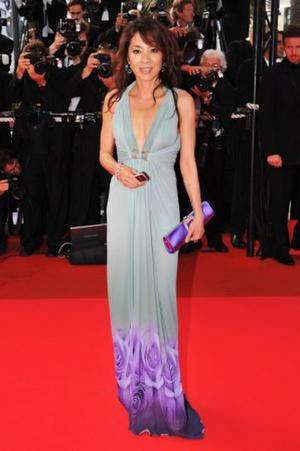 """Michelle Yeoh at the premiere of """"Che"""" during the 61st International Cannes Film Festival."""